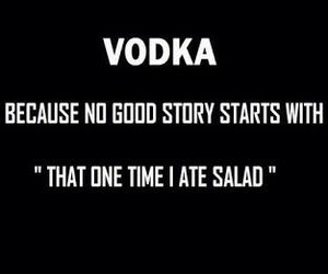 vodka and story image