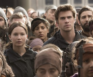 gale, the hunger games, and katniss image