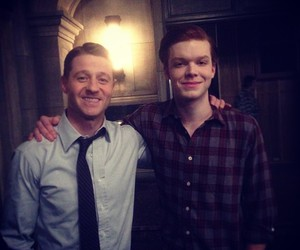 Gotham, cameron monaghan, and ben mckenzie image