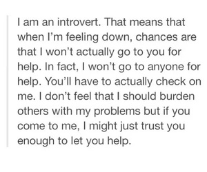introvert and quotes image