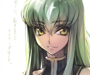anime, lelouch of the rebellion, and c.c. image