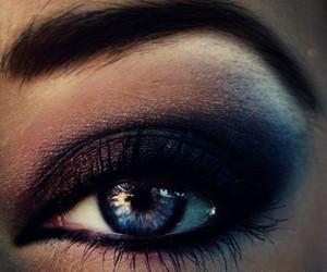 brown, eyelash, and make up image