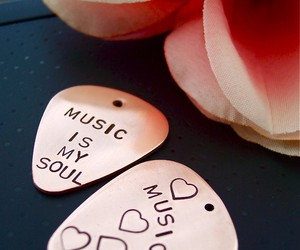 music, soul, and love image