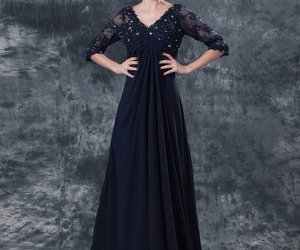 dress, fashion, and dark navy image