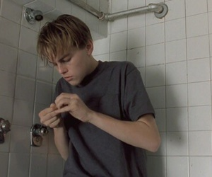 leonardo dicaprio, boy, and drugs image