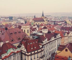 city, prague, and praha image
