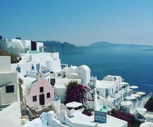 Greece, sea, and beach image