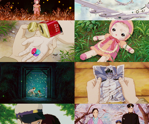 anime, grave of the fireflies, and edit image