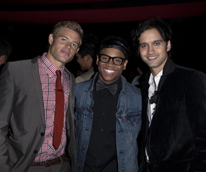 90210, Michael Steger, and Tristan Wilds image