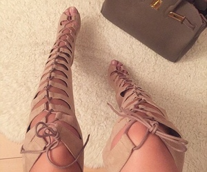 beige, girly, and heels image