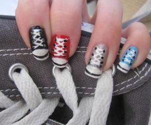 nails shoes cool life image