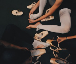 ballet, girls, and hands image