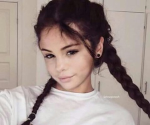 hair, makeup, and selena gomez image