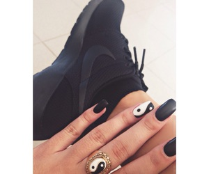 and, roshe, and black image