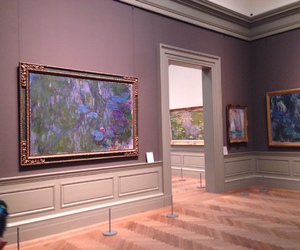 monet, museum, and pale image
