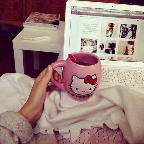 comfy, girly, and pink image