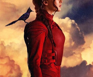 mockingjay, the hunger games, and katniss image