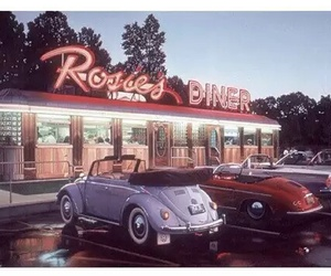 car, vintage, and 50s image