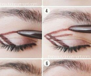 Easy, eye, and makeup image