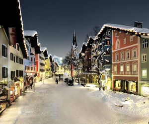austria, snow, and winter image