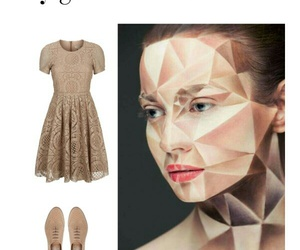 costume, diy, and geometric image