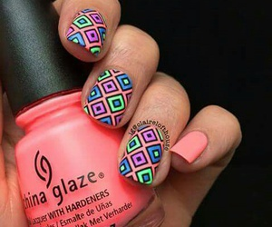 colors, nails, and bright orange image