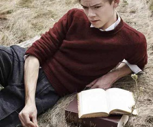 thomas sangster, newt, and thomas brodie sangster image