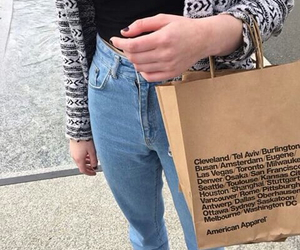 fashion, american apparel, and style image