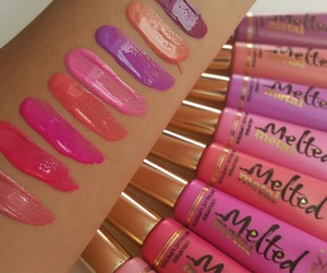 too faced and lipstick image