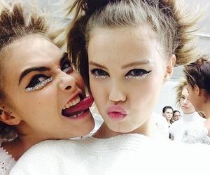 model, cara delevingne, and chanel image