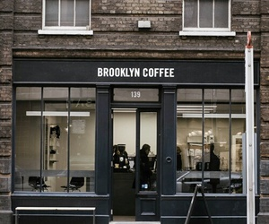 coffee, Brooklyn, and city image