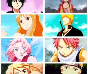 bleach, fairy tail, and naruto shippuden image
