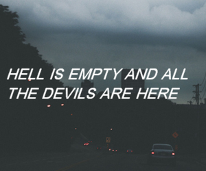 hell, Devil, and quotes image