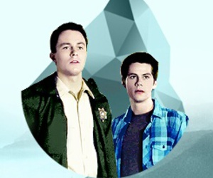 teen wolf, ryan kelley, and dylan obrien image