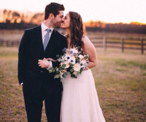 awesome, couple, and dress image