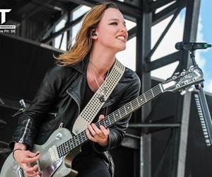 guitar, hard rock, and music image