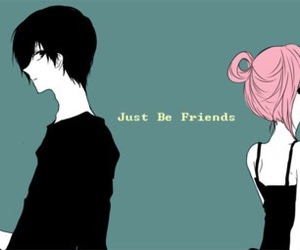 just be friends, girl, and vocaloid image