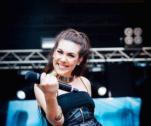 concert, music, and amaranthe image