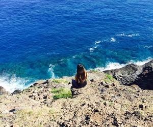 hawaii, hike, and sea image