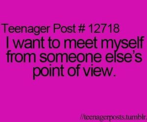 teenager post, myself, and quote image