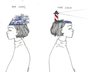 art, calm, and chaos image