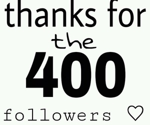 thanks and 400 image