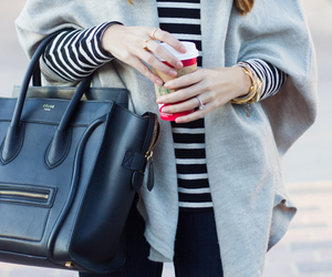 bag, clothes, and fall fashion image