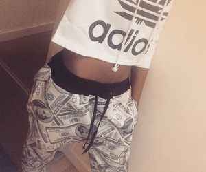 adidas, beauty, and joggers image
