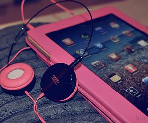 pink and ipad image