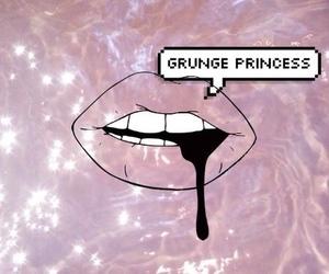 grunge, princess, and pink image