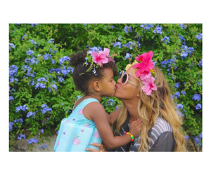 blue ivy, beyoncé, and queen bey image