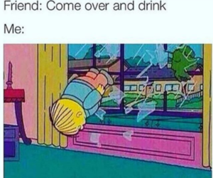 funny, alcohol, and humor image