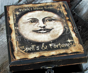 box, decoration, and spell image