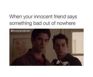 teen wolf, funny, and friends image